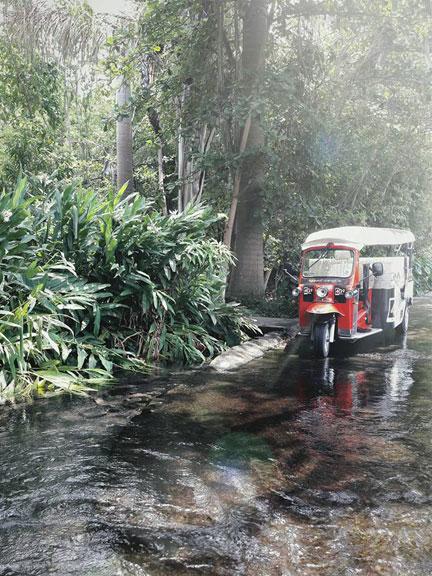 TukTuk au tour des roches à l'île de La Réunion Otétuktuk