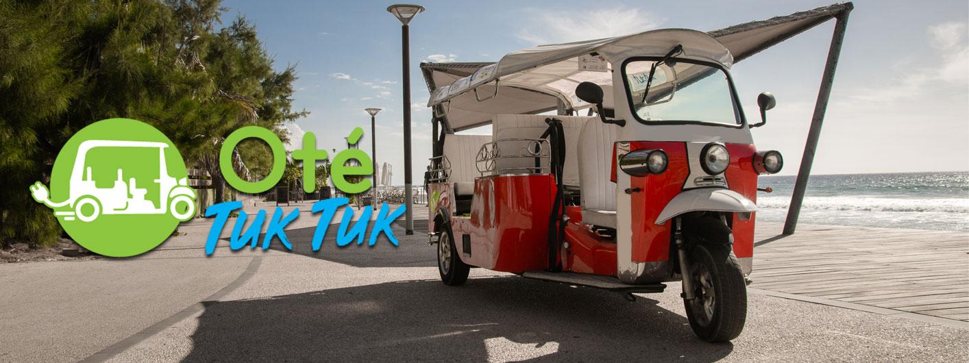 TukTuk véhicule électrique écolo île de La Réunion Otétuktuk